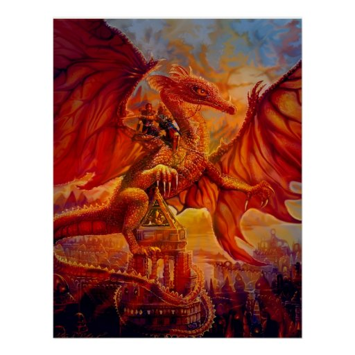 The Dragon Riders Posters