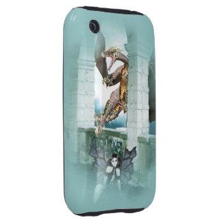 The Dragon s Lair Vignette iPhone 3 Tough Cases