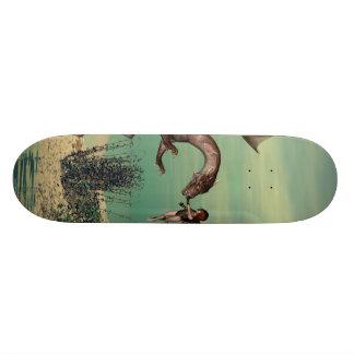 The dragon skate boards