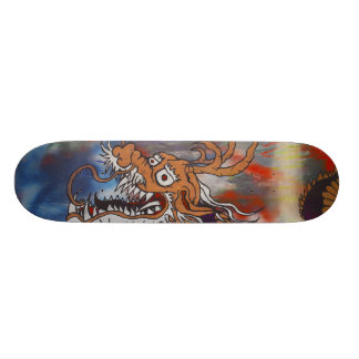The Dragon Skateboard Deck