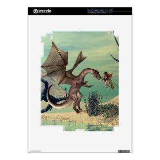 The dragon decal for iPad 2
