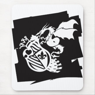 The_Dragon_Strikes Mouse Pad