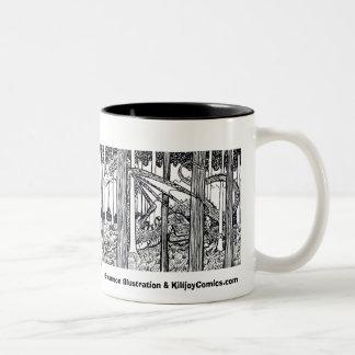The Dragon Wood Mug