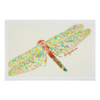 The Dragonfly Dance Print and Poster