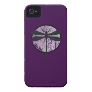 The Dragonfly in purple iphone 4 iPhone 4 Case-Mate Case