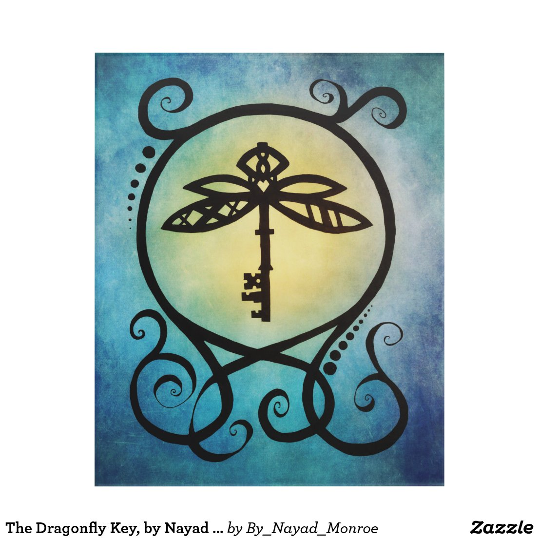 The Dragonfly Key, by Nayad Monroe Acrylic Print