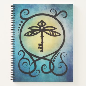 The Dragonfly Key, by Nayad Monroe Notebook