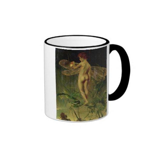 The Dragonfly Ringer Coffee Mug