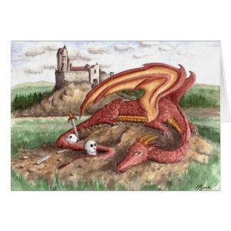 The Dragon's Castle Card