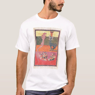 The Dragons, from the Girona Beatus T-Shirt