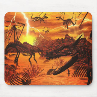 The Dragons Graveyard By Michelle Wilder Mouse Pad
