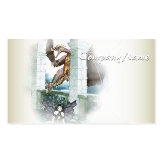 The Dragon's Lair Vignette Business Card