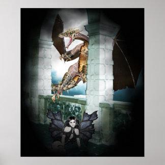 The Dragon's Lair Vignette Posters