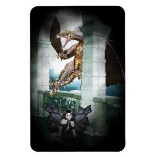 The Dragon's Lair Vignette Flexible Magnets