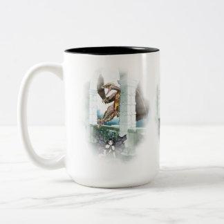 The Dragon's Lair Vignette Two-Tone Coffee Mug