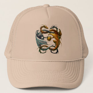 The dragons play balloon - trucker hat