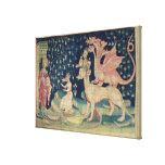 The Dragons Vomiting Frogs Canvas Print