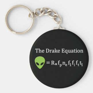 The Drake Equation Keychain