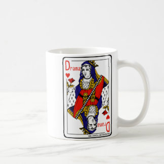 The Drama Queen Of Hearts Classic White Coffee Mug