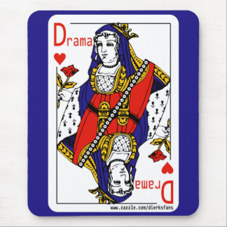 The Drama Queen Of Hearts Mouse Pad