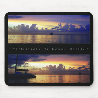 The Dramatic Color of the Sky and the Cloud Mouse Pad