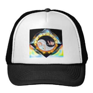 The Dramatic Dharma of Dueling Dualism Trucker Hat
