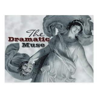 The Dramatic Muse CC0386 Postcard