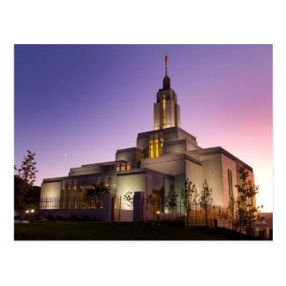 The Draper Utah LDS Temple Postcard