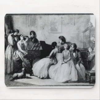 The Drawing Room Concert Mouse Pad