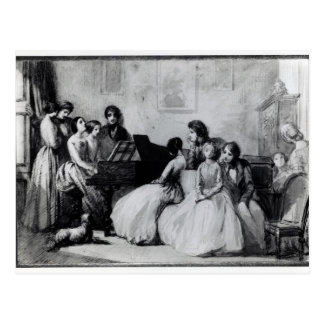 The Drawing Room Concert Postcard