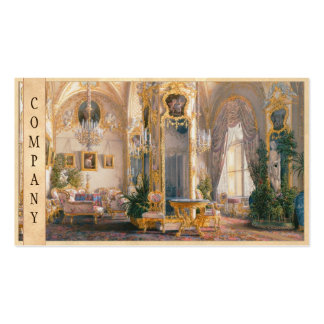 The Drawing Room in Rococo II Style, with Cupids Double-Sided Standard Business Cards (Pack Of 100)