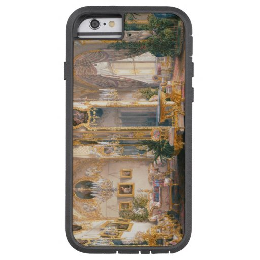 The Drawing Room in Rococo II Style, with Cupids iPhone 6 Case