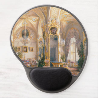 The Drawing Room in Rococo II Style, with Cupids Gel Mouse Mat
