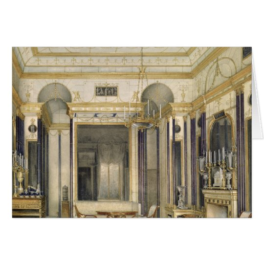 The Drawing Room of the Empress Maria Card