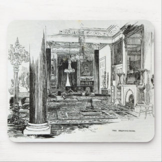 The Drawing Room, Osborne House Mouse Pad
