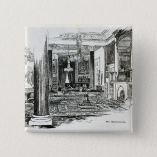 The Drawing Room, Osborne House Pinback Button