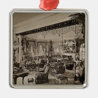 The Drawing Room, Wickham Hall, Kent, 1897 Metal Ornament