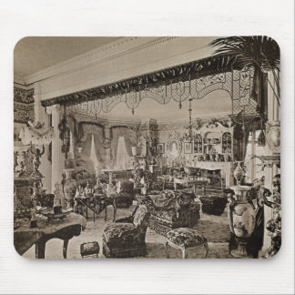 The Drawing Room, Wickham Hall, Kent, 1897 Mouse Pad