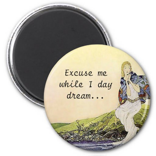 The Dream 2 Inch Round Magnet