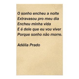 The dream - Adélia the Prado Stationery