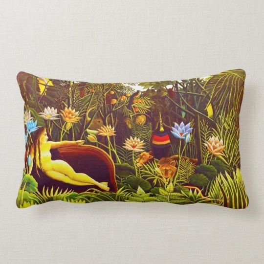The Dream, by Henri Rousseau Lumbar Pillow