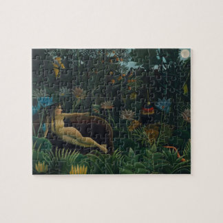 The Dream by Henri Rousseau, Vintage Impressionism Jigsaw Puzzle