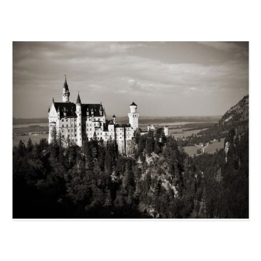 The Dream Castle of King Ludwig Postcard