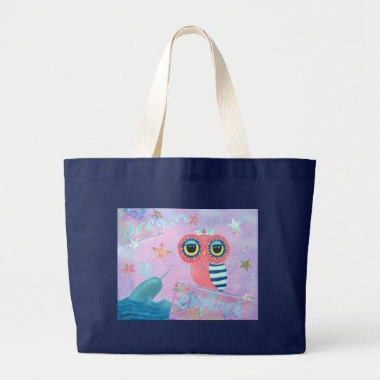 The Dream Explorer Large Tote Bag