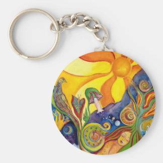 The Dream Fantasy Art Fairy Psychedelic Wonderland Keychain