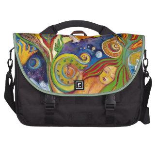 The Dream Fantasy Art  Modern Psychedelic Surreal Commuter Bag