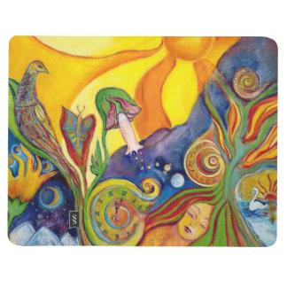 The Dream Fantasy Modern Folk Art Alice Wonderland Journal
