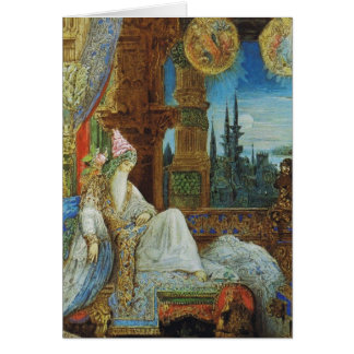 The Dream Haunting the Mogul Greeting Card