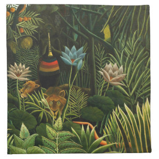 The Dream, Henri Rousseau Fine Art Napkin