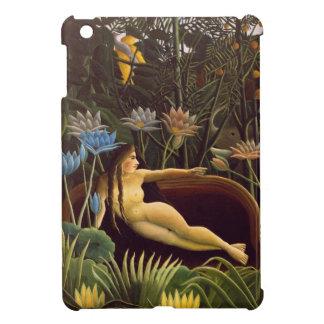 The Dream Henri Rousseau Jungle Flowers Painting iPad Mini Covers